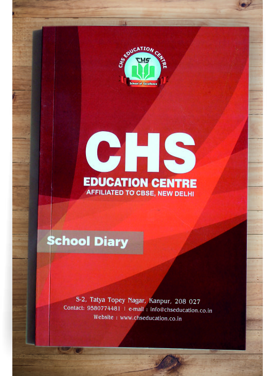School Diary (Multicolor front & back inner single color)